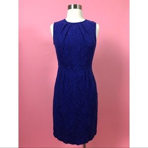 Trina Turk ultra violet blue sleeveless dress 6 M